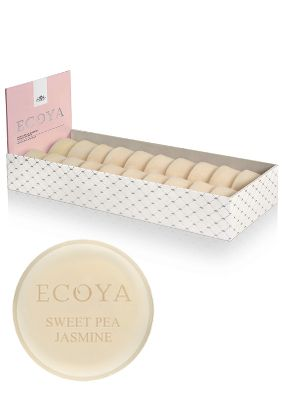 Ecoya Sweet Pea & Jasmine Soy Wax Melt, Single