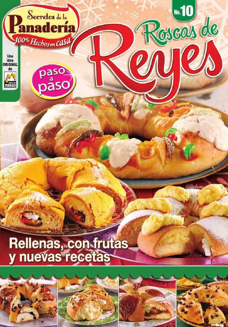 Secretos de la panaderia 10 roscas de reyes
