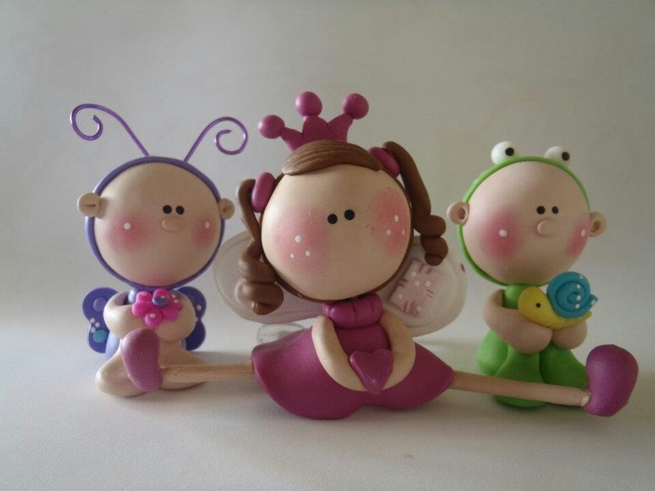 """Polymerclay....(these """"clay critters"""" are adorable! now i want to clay!)"""