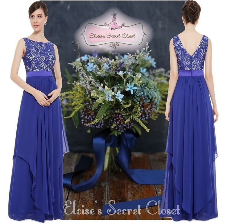 124 best images about Cobalt Sapphire Blue Bridesmaid Dresses on ...