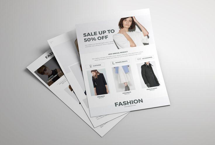 """查看此 @Behance 项目:""""Fashion Flyer""""https://www.behance.net/gallery/45307683/Fashion-Flyer"""