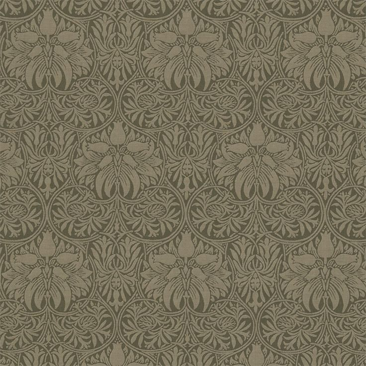 The Original Morris & Co - Arts and crafts, fabrics and wallpaper designs by William Morris & Company | Products | British/UK Fabrics and Wallpapers | Crown Imperial (DM6W230293) | Morris Archive Weave