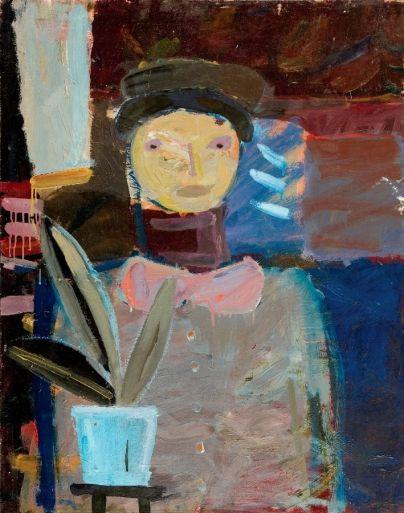 Artur Nacht-Samborski - Mężczyzna z fikusem