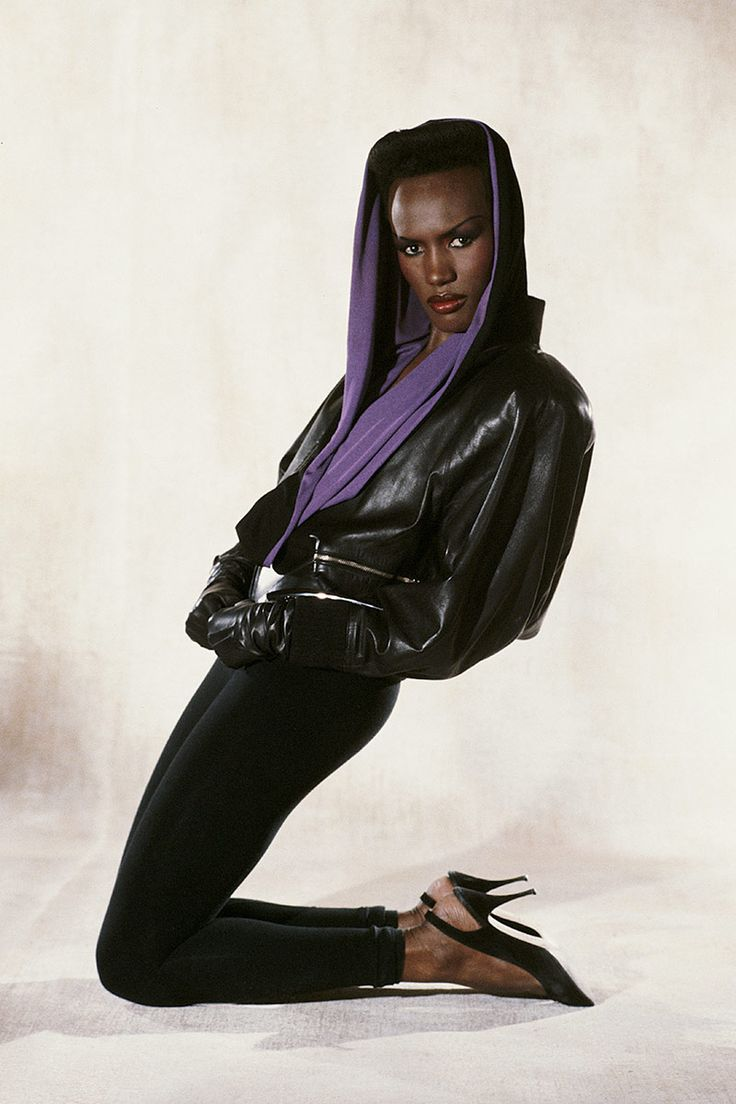 Grace Jones, 1984-now this looks like it was taken yesterday-so ahead of her time