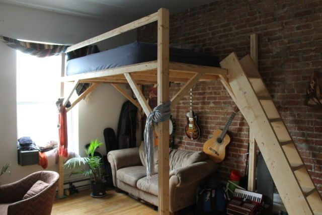 Mezzanine, lit superpose, bunk bed, simple, double, queen, king | lits, matelas | Granby | Kijiji