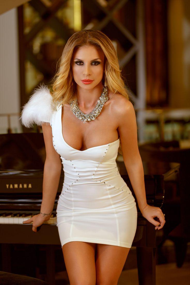 atmosphere fashion dresses white short pinterest