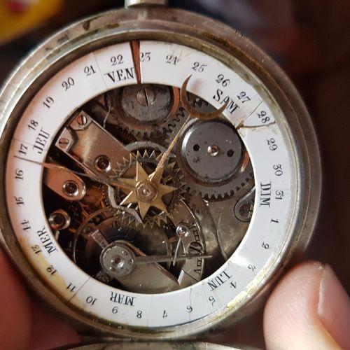 Ceas De Buzunar Argint Raritate