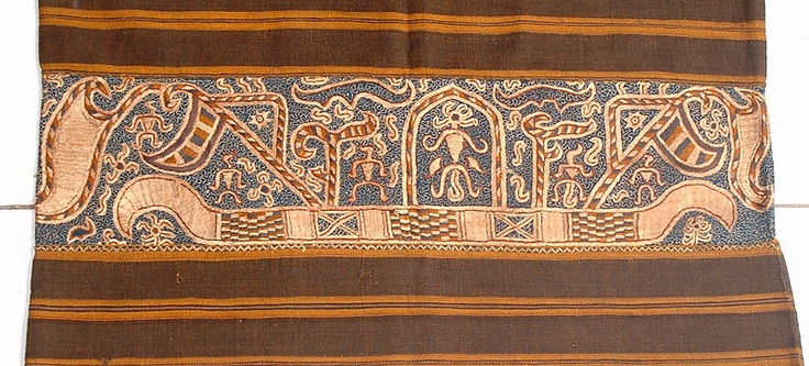 Tapis cloth from Lampung, Indonesia