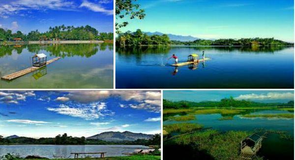 Tempat wisata situ gede Tasikmalaya ini merupakan danau terbesar yang memiliki keindahan yang sangat luar biasa