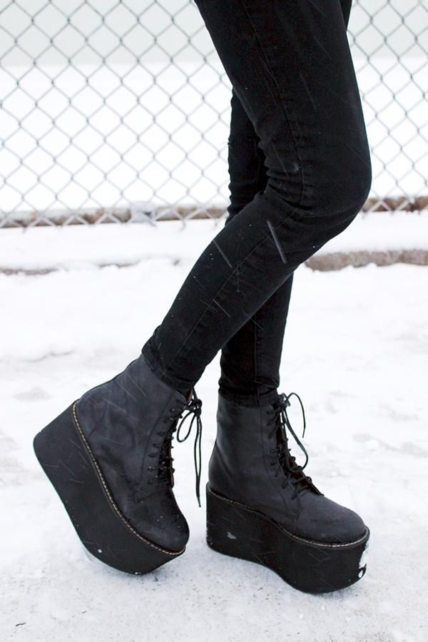 17 Best ideas about Platform Boots on Pinterest | Platform shoes ...
