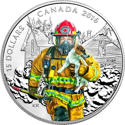 Royal Canadian Mint Honours Canada's National Heroes with Silver Collector Coin Series - Coin Community Forum Buy Now: http://www.coincommunity.com/go/_to.asp?target=http://www.mint.ca/store/coins/pure-silver-coloured-coin-%96-national-heroes-firefighter-%96-mintage-10000-2016-prod2680061