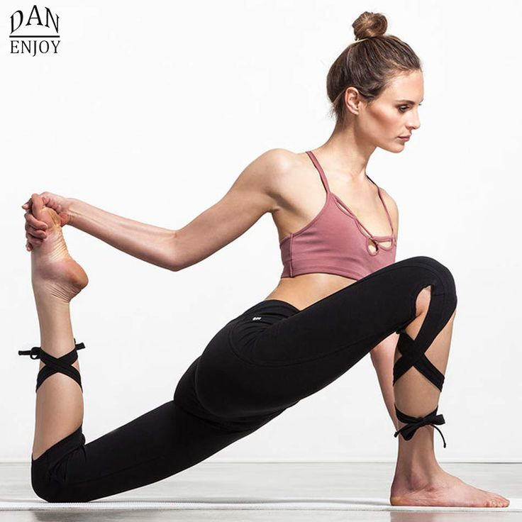 2016 Women Yoga Pants Sport Leggings Fitness Cross Yoga High Waist Ballet Dance Tight Bandage Yoga Cropped Pants Sportswear >>> You can find out more details at the link of the image.