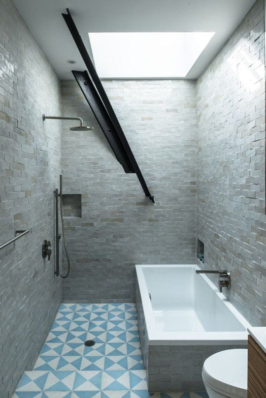 Bathroom Trend: A Tub Inside The Shower | Apartment Therapy