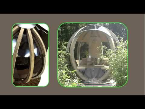 Rotating Garden Sphere from Leisure Shelters UK Ltd Call 01480 382181