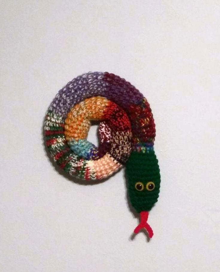 Door Draft Stopper Snake Door Snake Mixed Colors Crochet