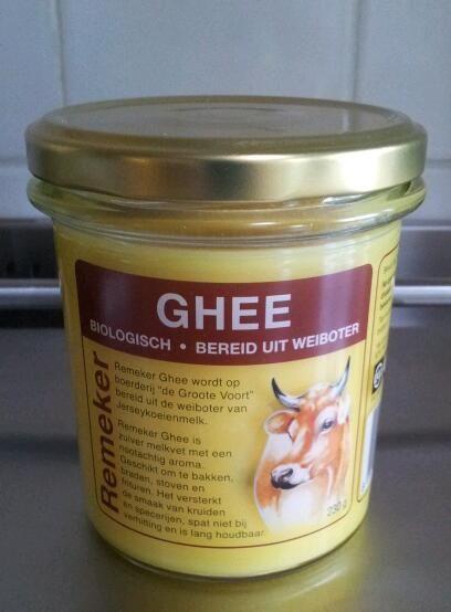 GHEE -Geklaarde boter van REMEKER.