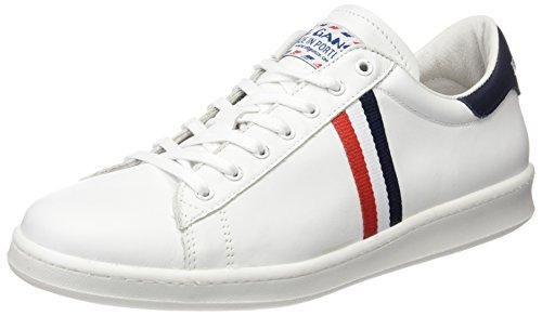 Oferta: 75€. Comprar Ofertas de El Ganso Low Top Blanca Bandera Francia - Zapatillas, unisex, color blanco, talla 43 barato. ¡Mira las ofertas!