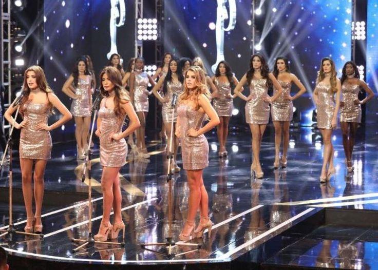 """Las bellas candidatas que lucharon por la corona de """"Miss Perú"""", el pasado domingo, convirtieron su presentación en un grito de protesta en contra de actos violentos hacia las mujeres."""