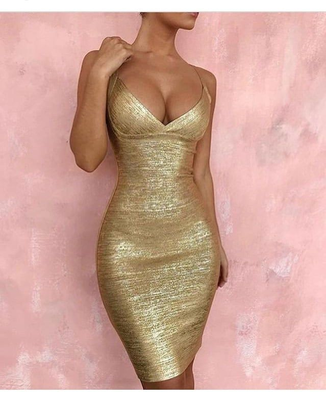 42+ Gold casual dress ideas