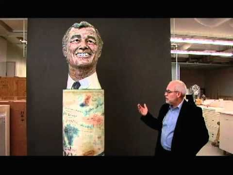 ▶ Robert Arneson's Portrait of George (Moscone) - YouTube, the tradition of honorary busts and how Arneson's piece is different.