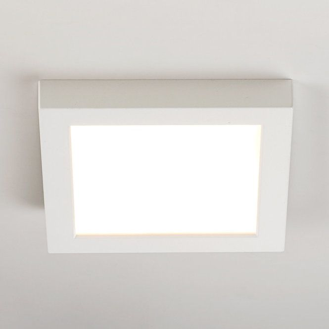 "7"" LED Simple Square Low Profile Ceiling Light In 2019"