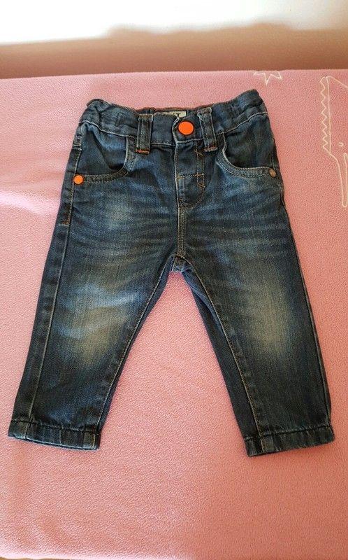 Kojenecké džíny Next, 6-9 měs.