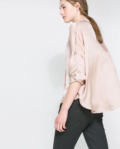 FLOWING BLOUSE from Zara