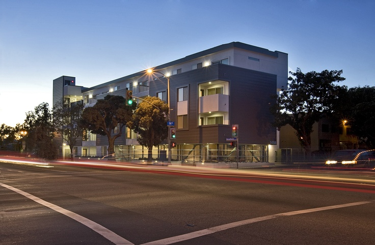 Ocean Breeze Apartments / atelier V  nice low income senior housing project