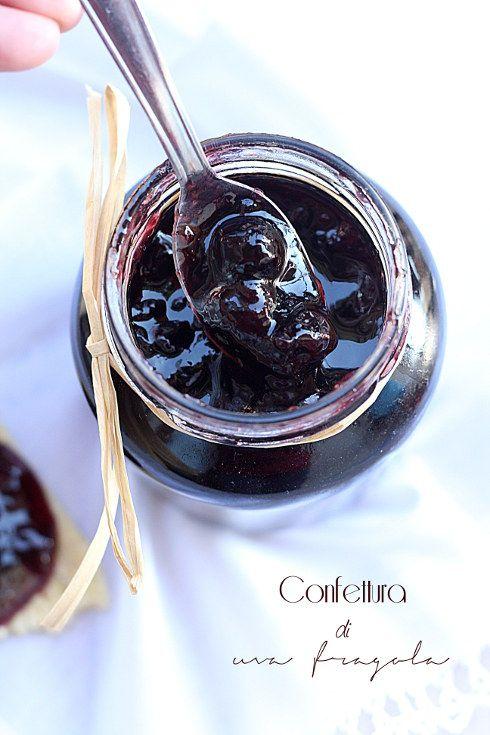 #Confettura di uva fragola con metodo #Ferber #confutures #jelly #jam #raisin #grape #food #glutenfree