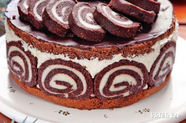 Keksztekercs torta recept: ezzel tuti sikert aratsz!
