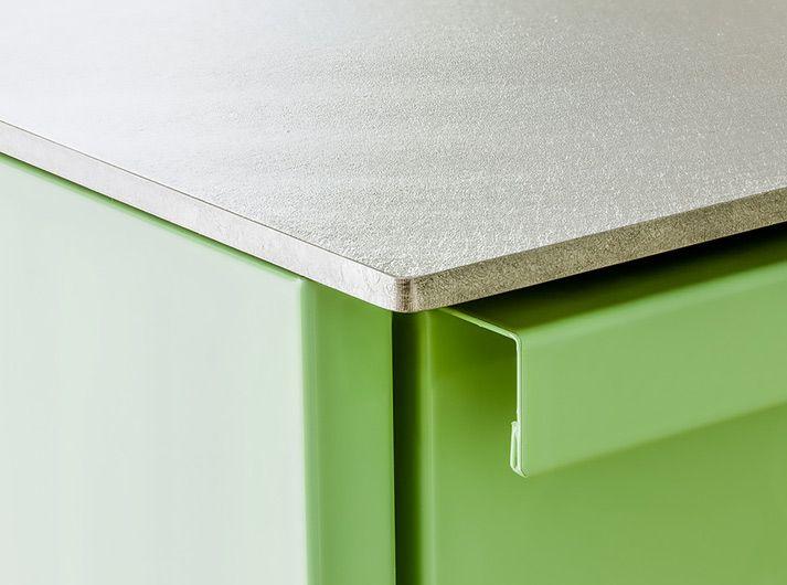 stadler silver touch edelstahlarbeitsplatte warmgewalzt kitchen pinterest k che. Black Bedroom Furniture Sets. Home Design Ideas