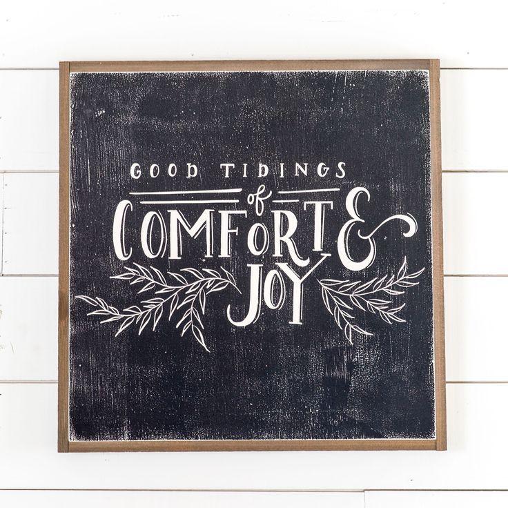 """Good Tidings"" Sign - Magnolia Market | Chip & Joanna Gaines"