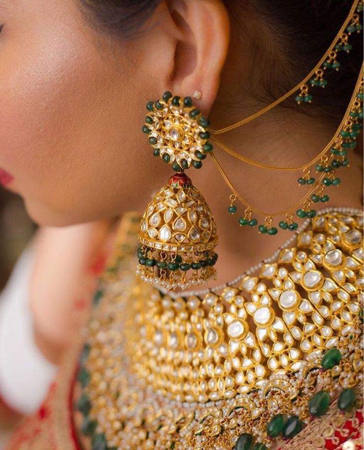 262 Best Pakistani Bridal Jewelry Images On Pinterest