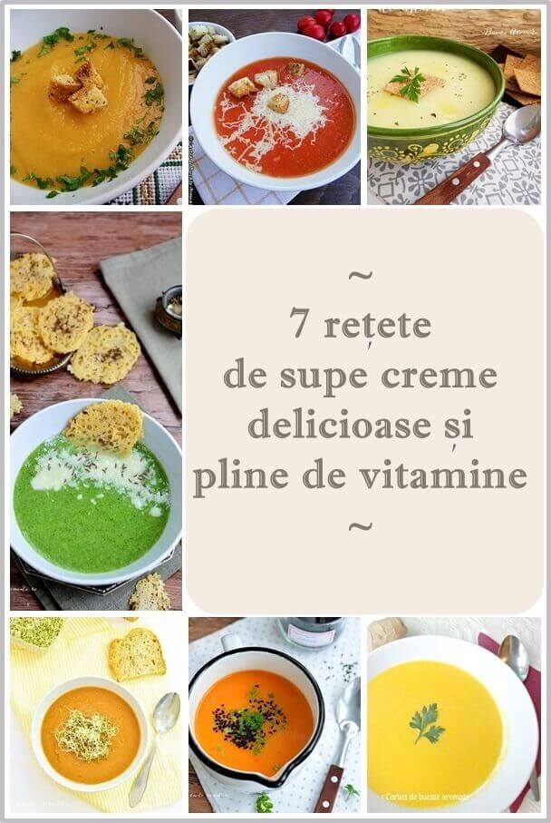 retete de supe crema