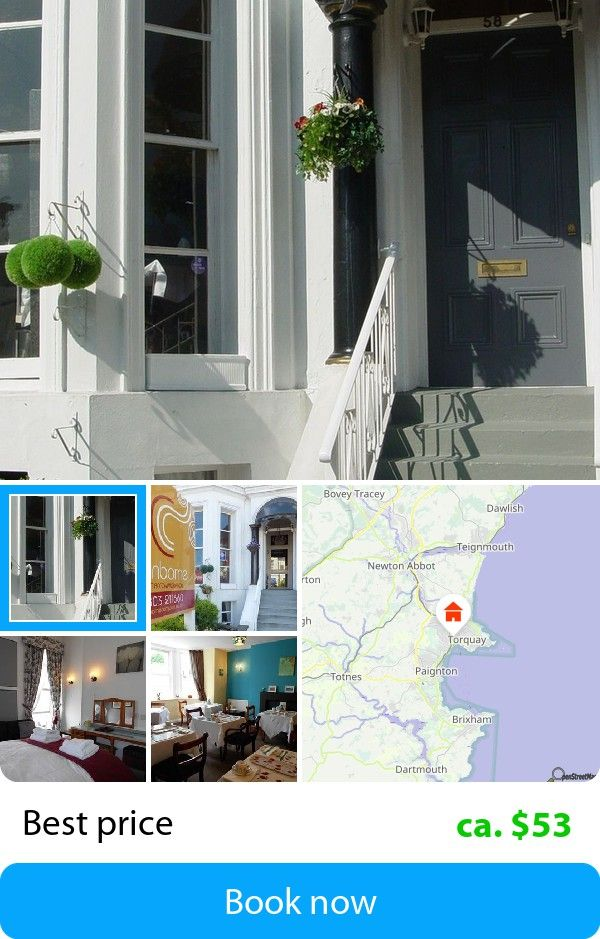 Cranborne Guest Accommodation (Torquay, United Kingdom) – Book this hotel at the cheapest price on sefibo.