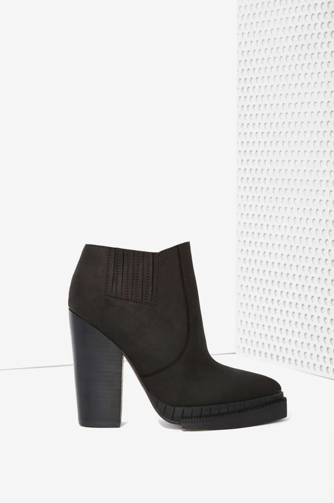 Want / Jeffrey Campbell Stria Leather Chelsea Boot - Heels | Jeffrey Campbell |  | Boots | Shoes | Sale on Sale