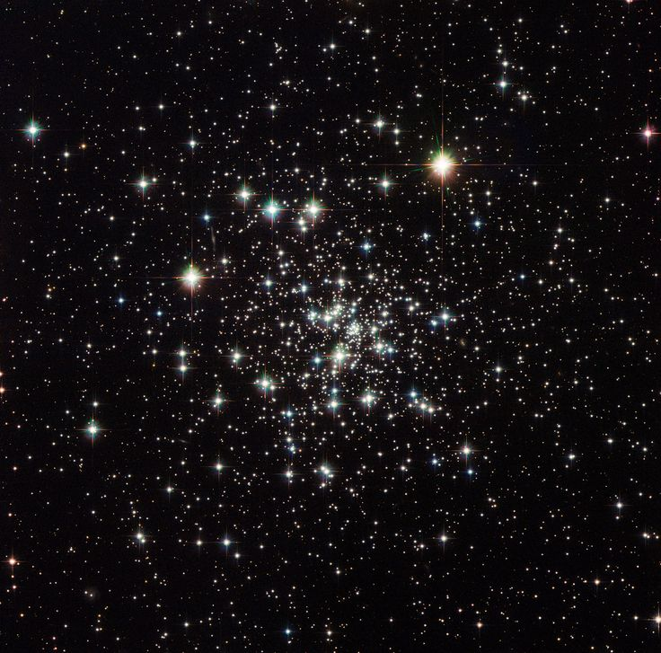 Hubble Sees an Ancient Globular Cluster This image captures the stunning NGC 6535, a globular cluster 22,000 light-years away in the constellation of Serpens (The Serpent) that measures one light-year across.