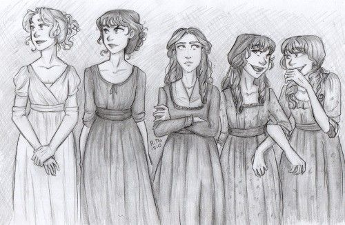 Pride And Prejudice  Yay to whoever drew this!