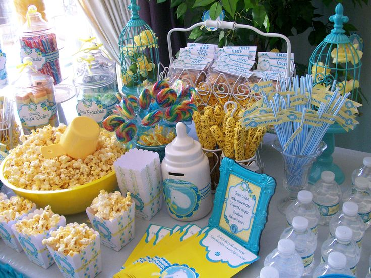 Baby Shower Candy Station. Baby Ryder Baby Shower