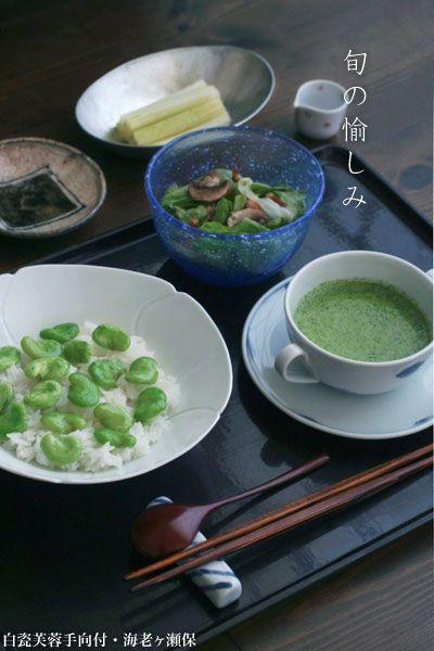 【一汁一菜】お味噌汁中心の食事:クレソンのクリームスープ