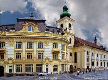 Primăria Sibiu - foto Mircea Vâlcu