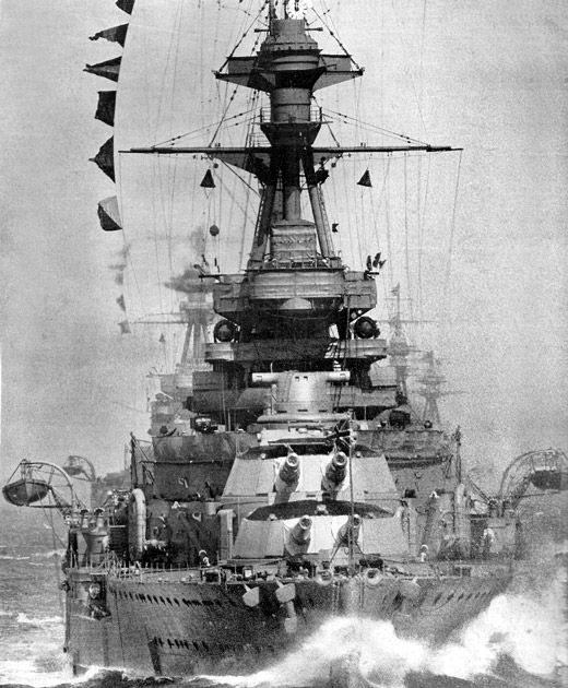 HMS Royal Oak, a Revenge class battleship of the Royal Navy was launched in 1916 and saw action in the battle of Jutland. She was sunk on 14th October 1940 at her mooring at Scapa Flow, the Royal Navy's base in the Orkney Islands in a daring raid by Kapitänleutnant Günther Prien  in U-47. 833 lives were lost in the attack. The wreck has been designated a war grave.