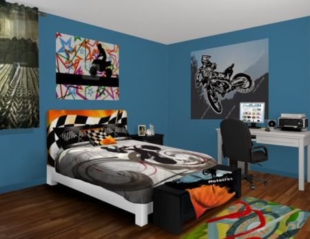 Find this Pin and more on Men s College Dorm Room  Motocross Kid Boy Bedroom  Decor. 17 best ideas about Motocross Bedroom on Pinterest   Dirt bike