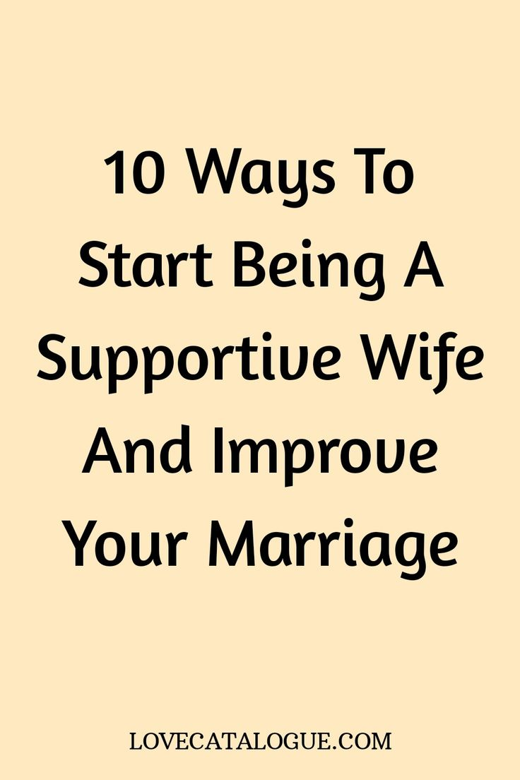 How to be a better wife and improve your marriage in 2020