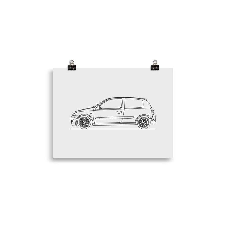 Clio 172 Cup Minimal Line Art (CM)
