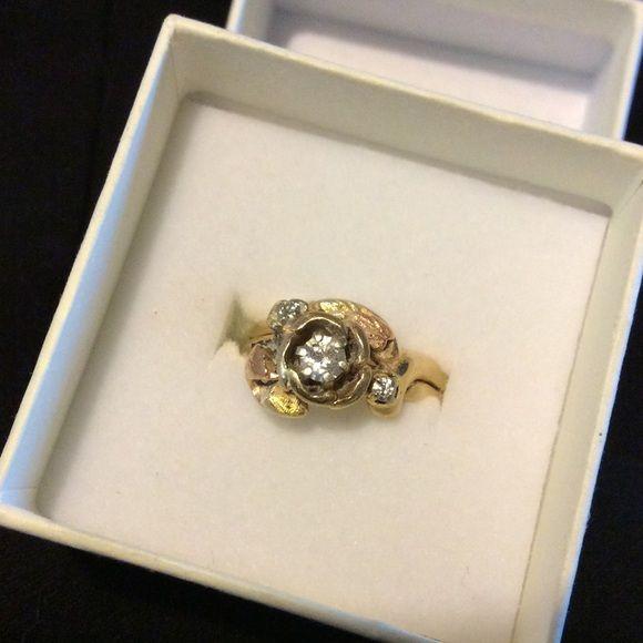 Stunning Black Hills Gold ring NO TRADES AT ALL Black hills gold wedding ring