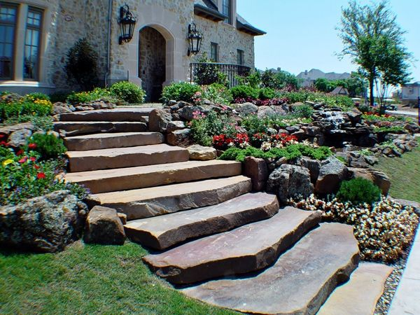 Landscaping Ideas Using Stone : Best images about projects to try on pinterest