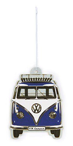 VW Collection by BRISA Désodorisant avec motif VW Bus T1avant: Super désodorisant au design le front VW Bulli. La fraîcheur intenses et…