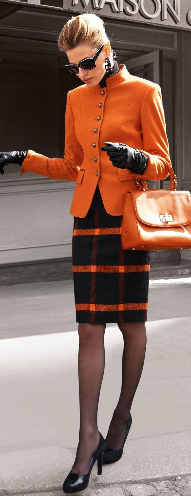 20 Ways ORANGE can reinvigorate your fall wardrobe - Poplistic