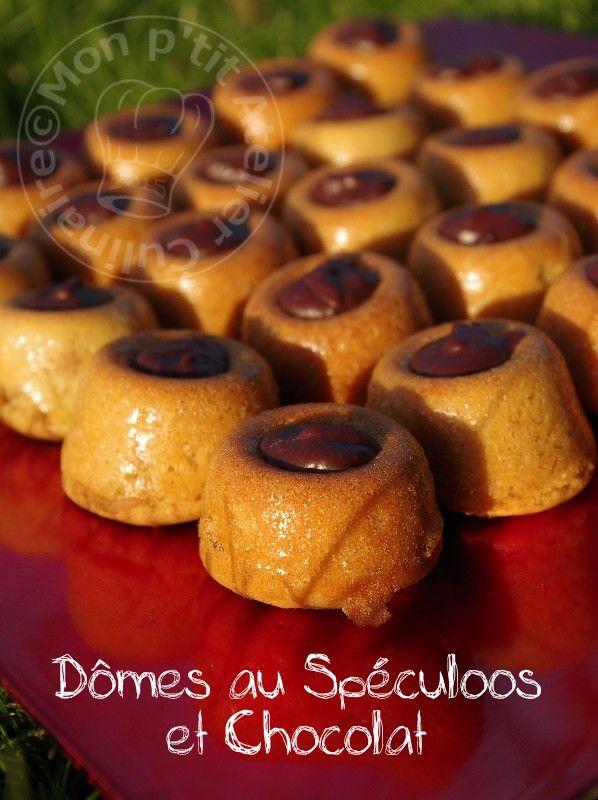 Domes au Speculoos et chocolat1